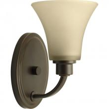 Progress P2000-20 - 1-Lt. Antique Bronze Bath Light