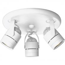 Progress P6153-30WB - Three-Light Multi Directional Pinhole Back Wall/Ceiling Fixture