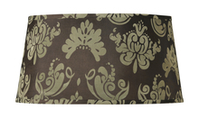 Jeremiah SH53-20C - Design & Combine Shade in Brown Damask