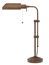 "CAL Lighting BO-117TB-RU - 26"" Height Metal Table Lamp In Rust"