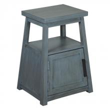 Uttermost 25960 - Uttermost Cora Blue Wash Accent Table