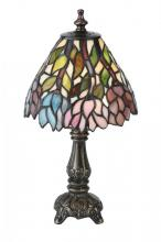 "Meyda Tiffany 18520 - 13""H Wisteria Mini Lamp"